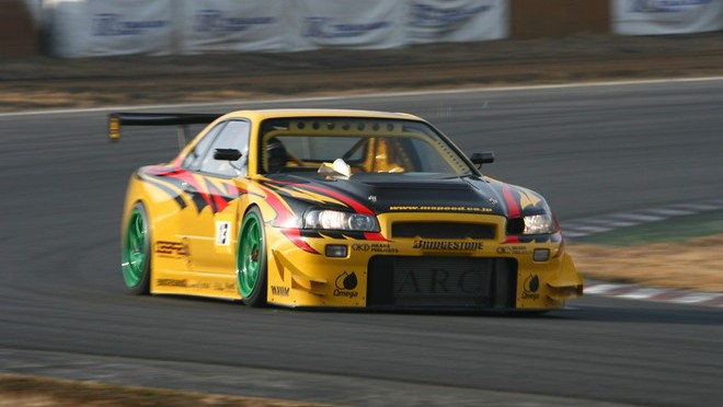 The fastest GT-R at Tsukuba Circuit 筑波サーキット最速スカイラインGT-R