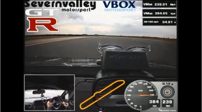 New world record for GT-R… 0-300km/h加速11.56秒!