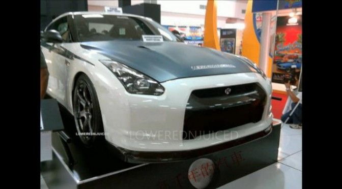 R35 replica made by New Millennium Motors in China… 中国の新千年的汽車なる業者がR35レプリカを作るとか・・・