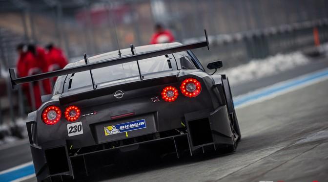 NISSAN GT-R NISMO GT500 Test