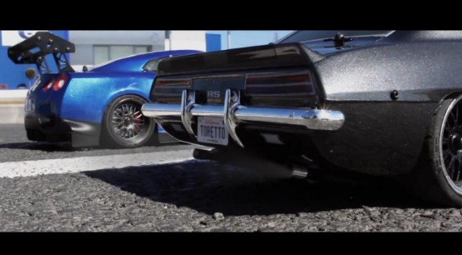 "The world of ""Fast and Furious"" recreated with R/C cars?! 映画「ワイルドスピード」をラジコンで再現?!"